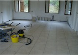 Floor tiled and ready for new units