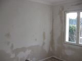 Room completely skimmed ready for decoration